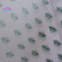 Papel de embalagem personalizado do papel do lenço do logotipo impresso/papel de embalagem de umidade para sapatos/envoltório de pano