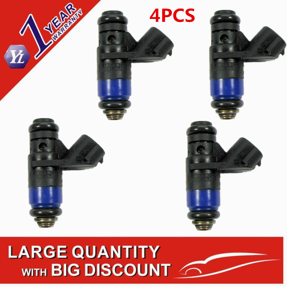 4PCS fuel injector nozzle 036906031AB 036 906 031 AB case for V W Polo Skoda Fabia