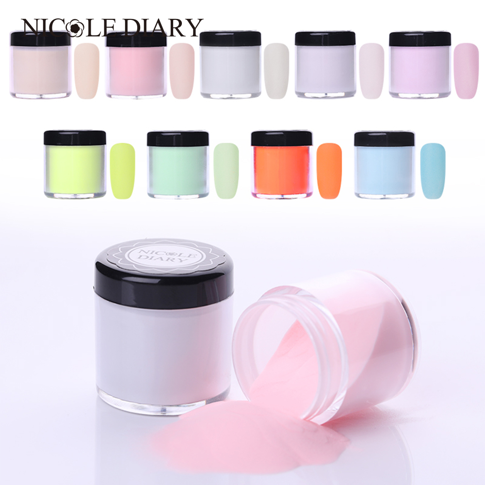 Nail Dipping System: NICOLE DIARY Dipping System Powder Without Lamp Cure Nails