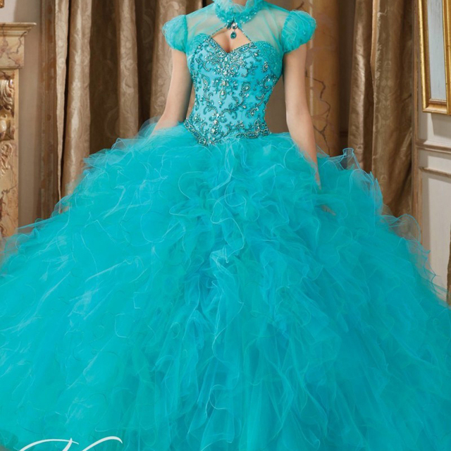 Champán Deslumbrante Con Cuentas Blusa Con Volantes de Tul Balón vestido de Partido Del Dulce 16 de Quinceanera Dress Lace Up Volver Fluffy Vestidos De Baile