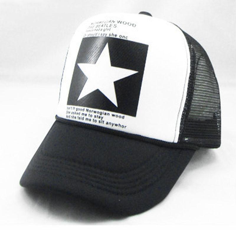 Summer Mesh Trucker Hat for Men Women Adjustable Snapback Dad Hats Caps Male Female female caps for autumn