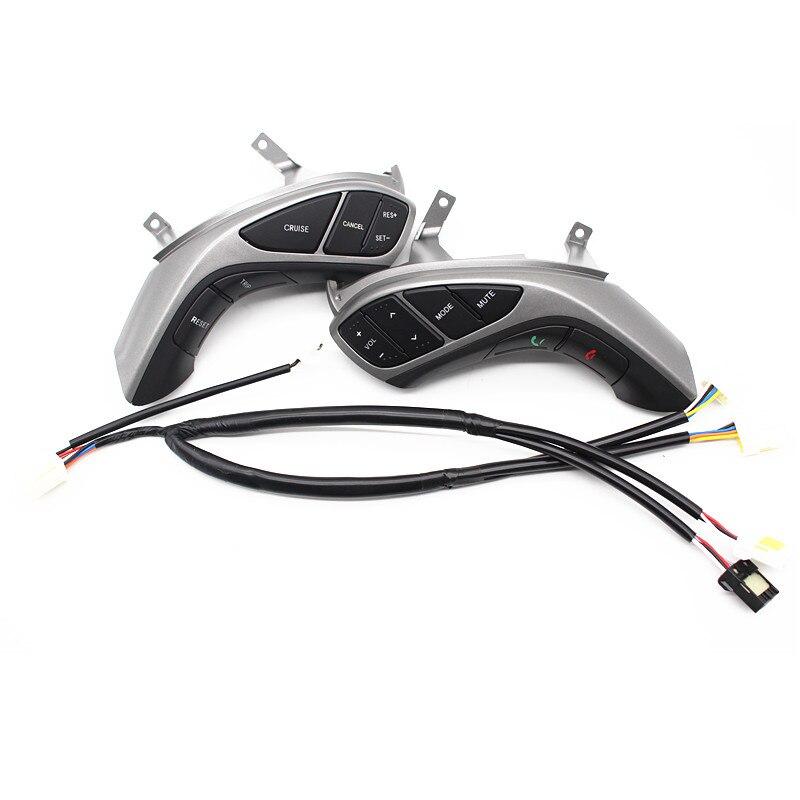 Botão do volante multifunções Para Hyundai Elantra 2012 2013 2014 função de cruzeiro  interruptor de volume de áudio do telefone acessórios em Volantes ... 0f2a36544104c