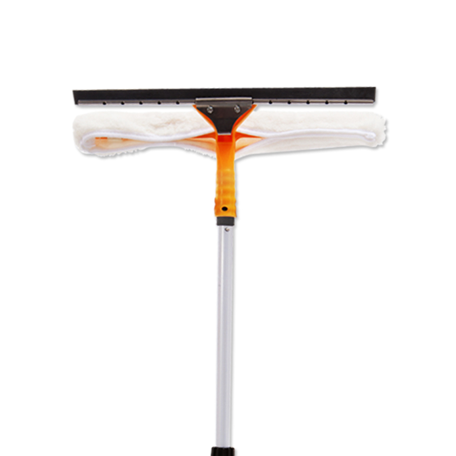 Soft Large Durable Rubber Glass Scraper Blade Safe Window Cleaner Brush Zaaizaad Van Glass Squeegee Cleaning Tools 50C0009