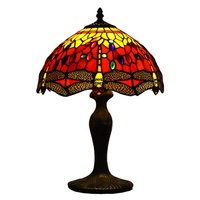 ATREUS Tiffanylamps 12 inches Lamp Shade Dragonfly Antique Vintage Lighting Fit for Home Decoration On sale