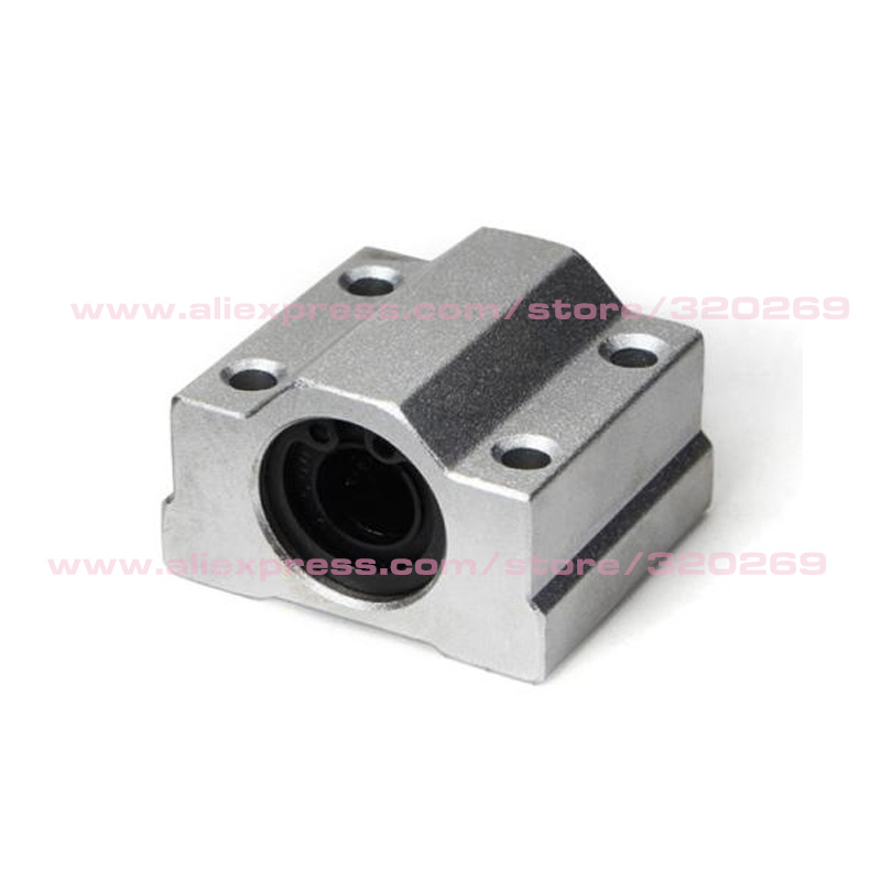 8 шт./лот 8 мм линейный SC8UU шариковые подшипники для XYZ Rail вал линейный 3D-принтеры часть алюминиевый сплав шкив Запчасти