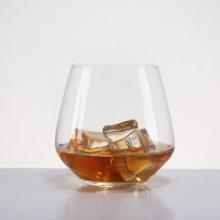4 PCS Lead Free Crystal Wine Glass High Quality Whisky Glass 390ml 13OZ For Home Bar