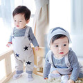 Kids Clothes Baby Girls Clothing Sets Toddler Kids Girls Clothes Set Overalls Set Stars 2016 New