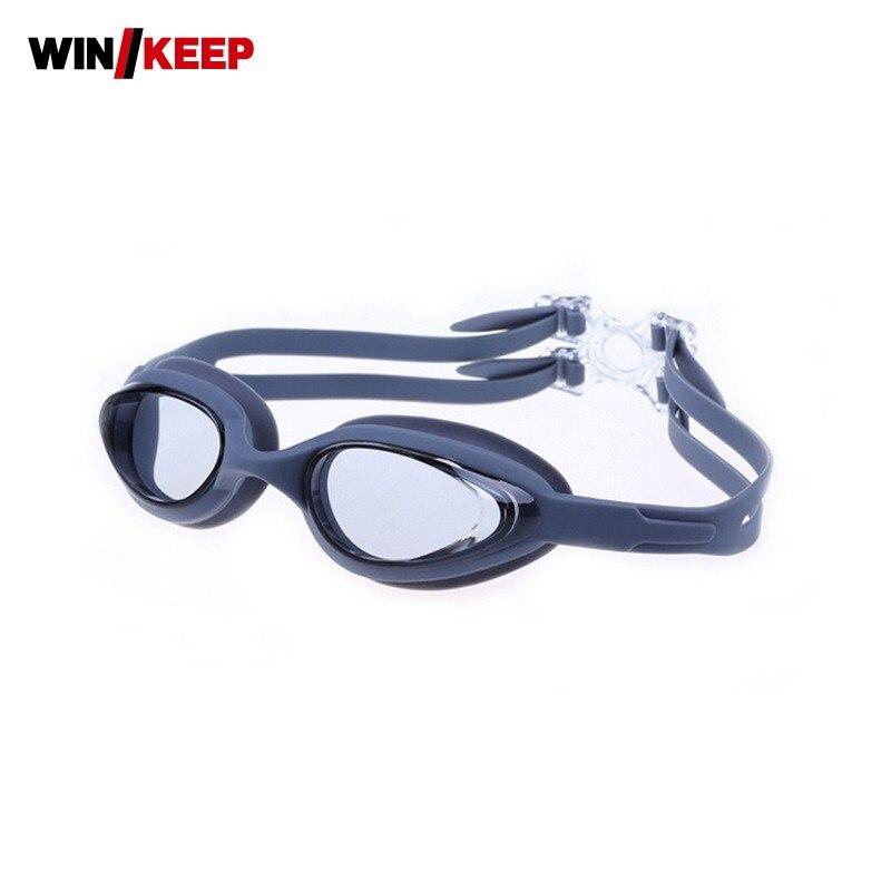 Swim Goggles Male Female Swimming Glasses Anti Fog Waterproof Swim Eyewear Adjustable HD Silicone For Adult Professional Piscine