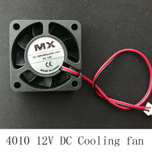 40x40x10mm 4010 fans 12/24 Volt Brushless DC Fans for heatsink cooler cooling radiator 3d printer parts 4020 Cooling Fan