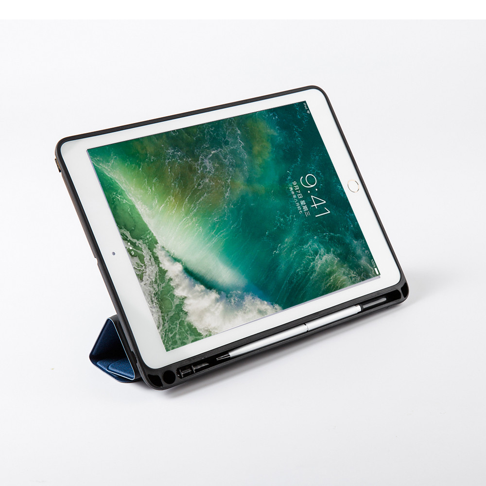 Ultra Slim Smart Cover Protective Stand Case With Pencil Holder For Ipad Pro 10.5 A1701 A1709