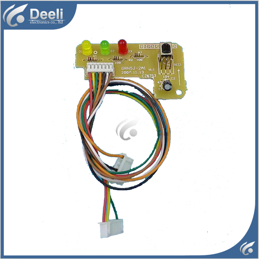 95% new good working for Gree air conditioning board GRN5J-2A1 control panel display board new good working for air conditioning computer board control panel universal panacea modified strip display qd u10a