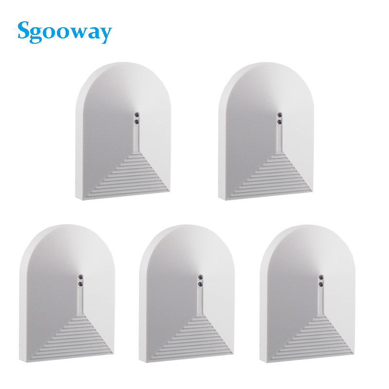 Sgooway 5 Pieces Wired Glass Break Detector Sensor For Alarm System Window Glass Security Free Shipping