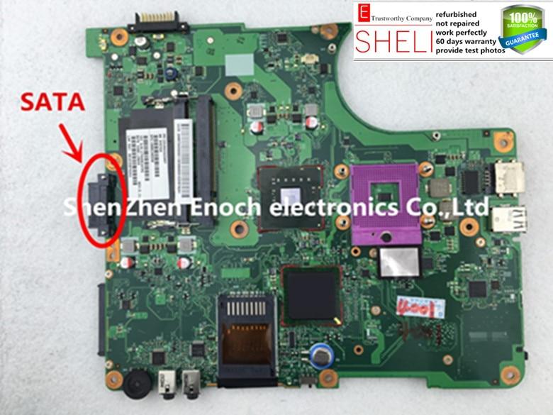 6050A2264901-MB-A02 for Toshiba satellite L350 L355 laptop motherboard V000148340. SHELI store,60 days warranty цена
