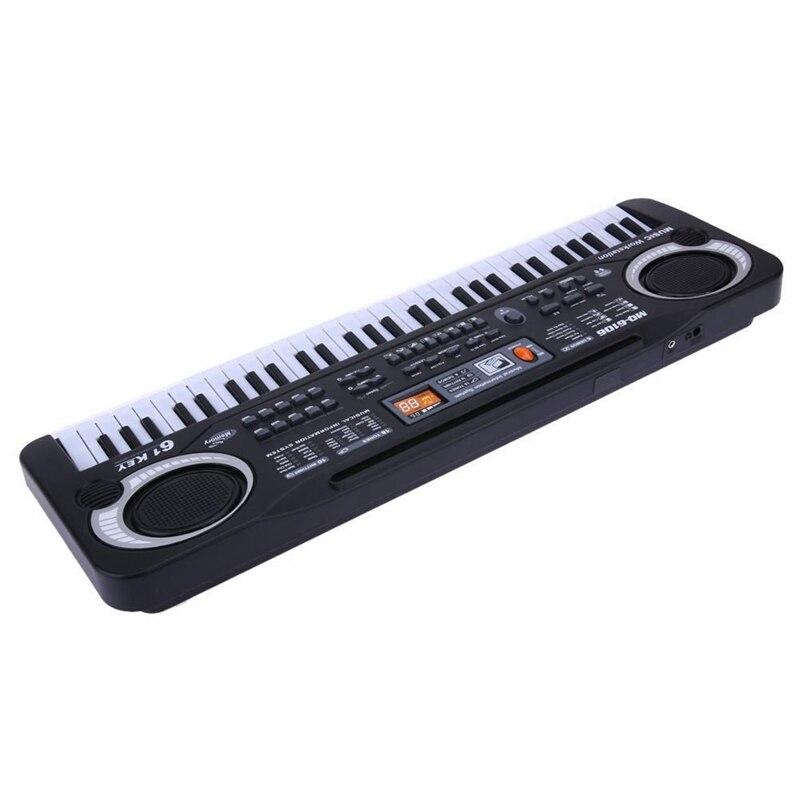 61 teclas de piano digital teclado de