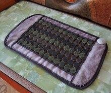 Бесплатная Доставка 1 шт. 86 см Х 47 см Физиотерапия Массаж Нагревательный Мат, тела Массажер Подушка для Здравоохранения