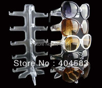 5 Pair Eyewear Spectacles Sunglasses Display Stand Holder Rack Detachable Glasses Stand Tabletop Show Stand
