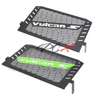 Black/Green Motorcycle Accessories Radiator Guard Protector Grille Grill Cover For Kawasaki VULCAN S 2015 2016 VULCAN 650