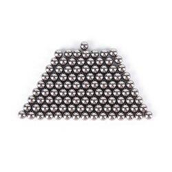 100 шт./компл. 4 мм с высоким содержанием углерода Сталь Рогатка с шариком катапульта лук Сталь шарики охотничья Рогатка