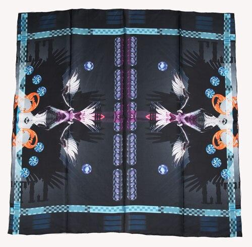 ELEGANT HANDMADE BRAND 100%Twill Silk Scarf TWIC-209521