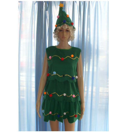 All clear, adult womens christmas costume