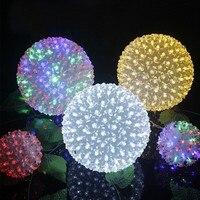Lớn LED Cherry Blossom Flower Bóng Đèn LED Cherry giáng sinh Đèn Chuỗi cho Vòng Hoa Wedding Party Home Vườn Dia.20cm