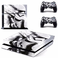 Vinyl Decal Skin Sticker Cover of Star Wars Stormtrooper for Sony PS4 PlayStation 4 and 2 controller skins