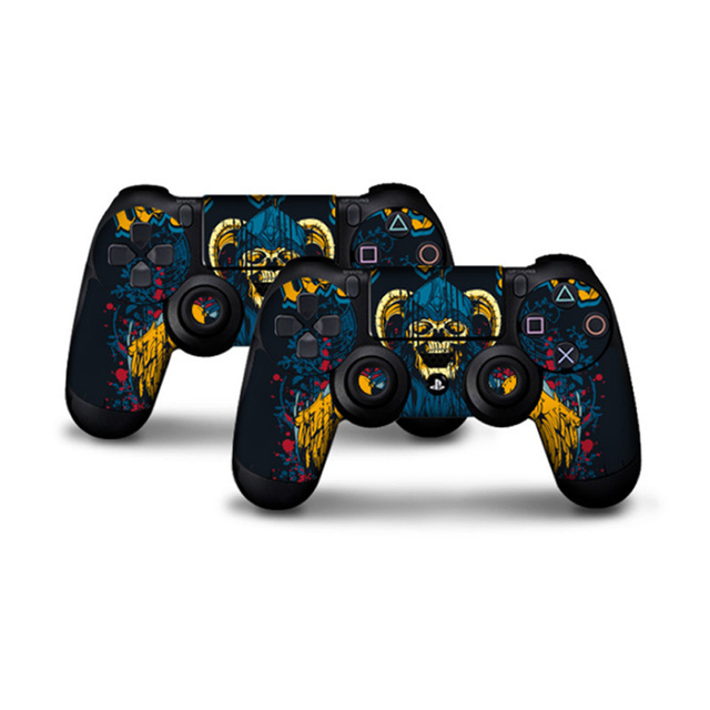 2 pcs Stickers for PS4 Skin Controller Skin for Play Station 4 Stickers ps4 joker PS 4 Sticker Anime Controller Skin God of War  1