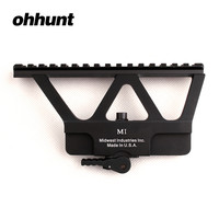 MI Quick Detach AK Gun Rail Scope Mount Base Picatinny Side Rail Mounting For AK 47