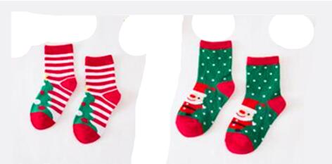 2Pair Christmas Baby Kids Toddler Winter Warm floor Thick Cotton Terry Socks NEW