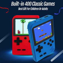 Handheld Video Games Console Built-in 400 Retro Classic Games 3.0 Inch Screen Portable Arcade Gaming Player Machine