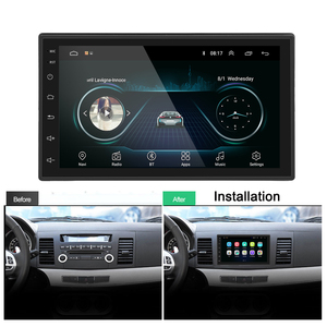 Image 5 - Podofo 2din Car Radio Android Multimedia Player 2 Din 7 GPS Bluetooth Autoradio FM WIFI Stereo Receiver For Volkswagen Toyota