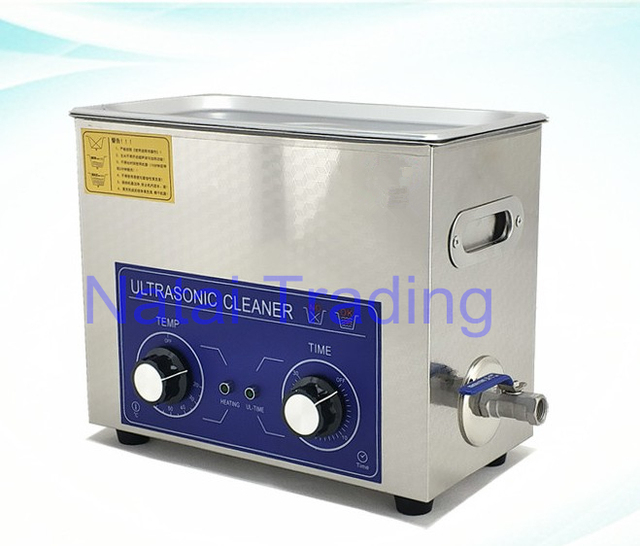 stainless steel 180W 6L diesel injector cleaning machine ultrasonic cleaner for common rail injector repair tool
