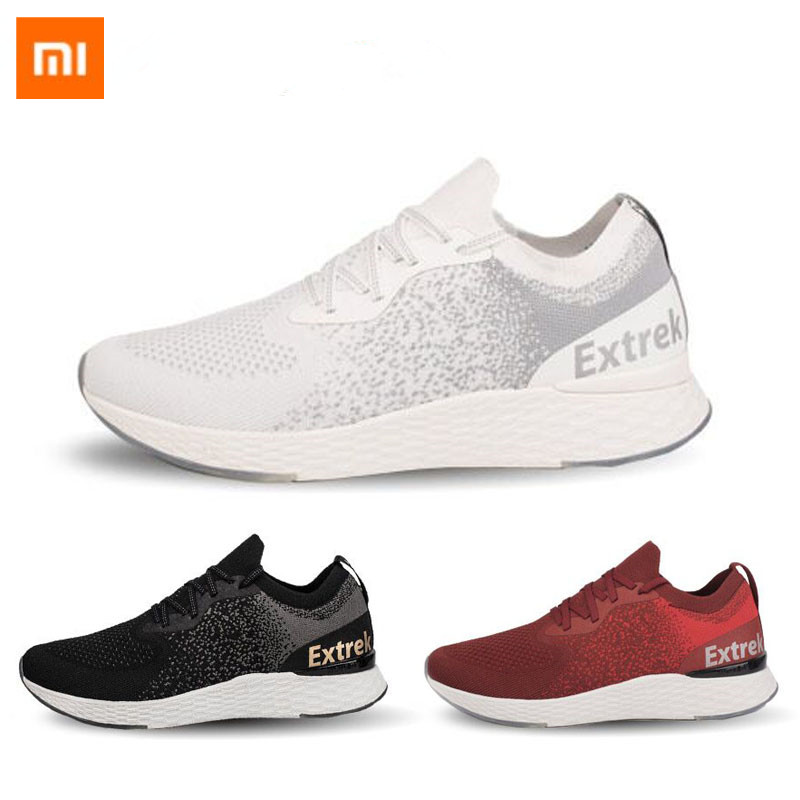 Original Xiaomi Extrek flying woven shoes ostomy quick drying breathable remove the odor men women Sport