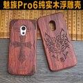 Caso meizu pro 6 caso de madeira de alta qualidade 100% de madeira diy telefone caso capa para o meizu pro 6 #1014