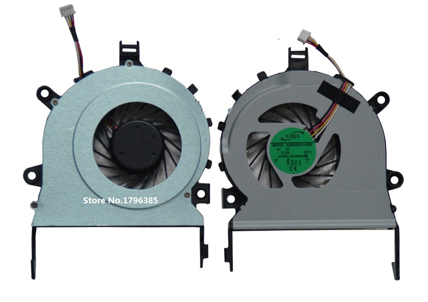 New CPU Cooling Fan For Acer Aspire 4820T 4745G Laptop AB8005HX-RDB ZQ1 4-PIN