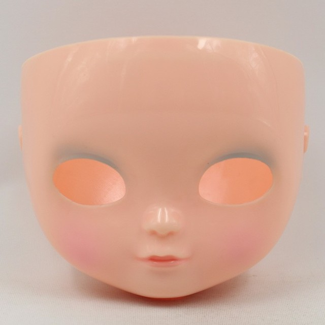 Neo Blythe Doll Faceplate Backplate & Screw