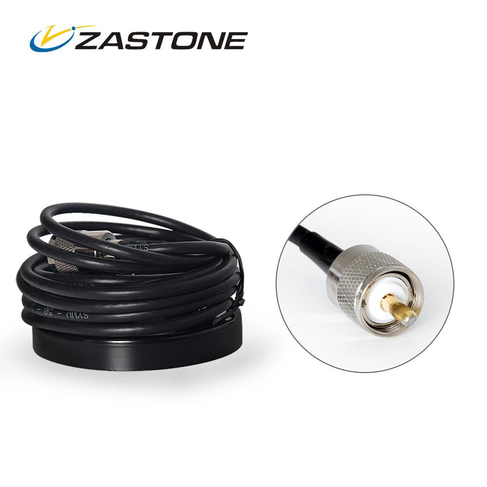 Aerial Antenna Base 5M Feeder Cable 13CM Magnet PL259 Port Connector Mobile Radio Magnetic Antenna Base