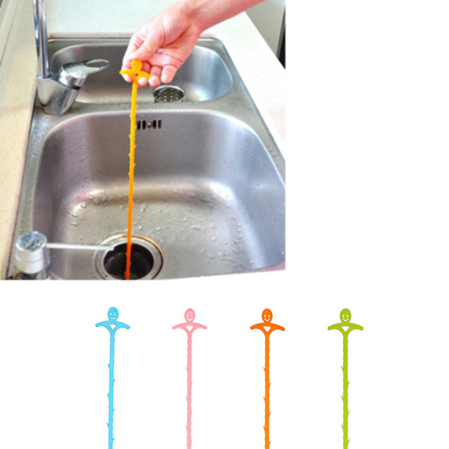 Sink Garbage Drain Kitchen Hair Remover Loose Device Cleaning Tool ...