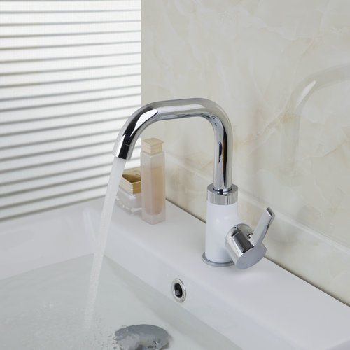 Kitchen Faucets Torneira 97057 Home Kitchen Sink Swivel Faucet With Pure Water Tap Single Handle 803