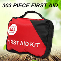 1Set 303 Pieces First Aid Mega Kit Emergency Set Kit A Must Have For Every Family Lightweight First Aid Carry Bag Kits