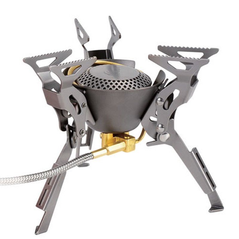 Fire Maple Titanium Gas Burner For Outdoor Camping Hiking Ultralight Foldable Burners Split Gas Stove Stoves