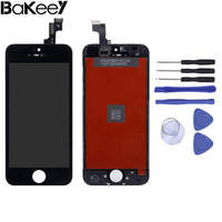 High Quality Bakeey For iPhone 5S Full Assembly LCD Display+Touch Screen Digitizer Replacement With Repair Tools Sets