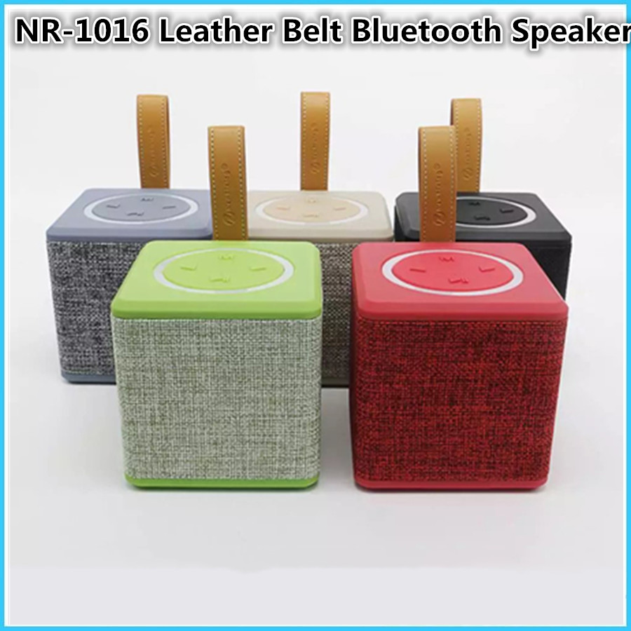 NR1016Portable Super bass Bluetooth Speaker 5W MINI Wireless Stereo Loudspeakers Bass Outdoors Subwoofer Sound Box HandsFree FM