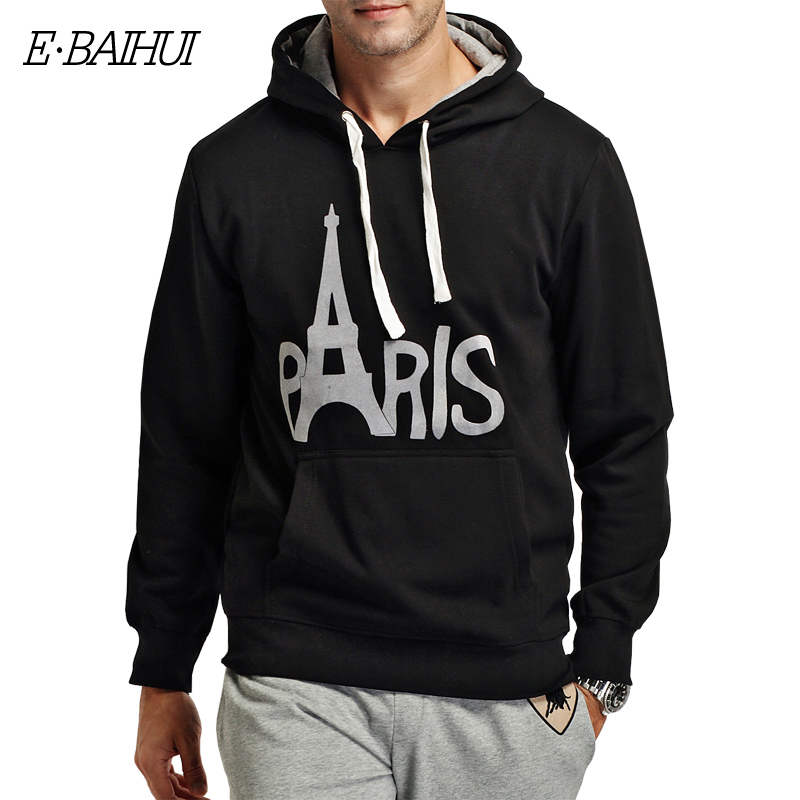 E-BAIHUI brand mens hoodies and sweatshirts Moleton Masculino Cotton  coats Men Sweatshirts men  winter coat  swag  WY002