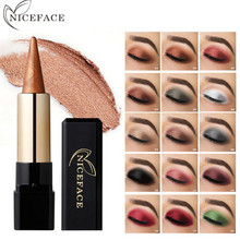 NICEFACE 20 Colors Eyeshadow Pencil Cosmetics Pencils Eye Shadow Pen Waterproof Shimmer Glitter Makeup Eyeliner pencil Maquiagem
