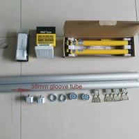 DIY Smarthome Blinds Roller shades,electric roller blinds,Double Chaneels Wall Switch ,Free Wall switch