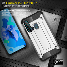 For Huawei P20 Lite 2019 Case Shockproof Armor Rubber Fundas Phone Case For Huawei P20 Lite 2019 Cover For Huawei P20 Lite Case цена