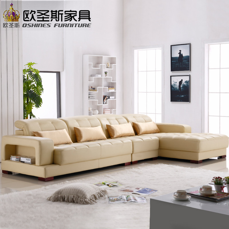 Beautiful softline leather sofa italian nubuck leather sofa sofa furniture leather modern simple design sectional leather sofa 1305Q in Living Room Sofas from Simple Elegant - Beautiful nubuck leather sofa Modern