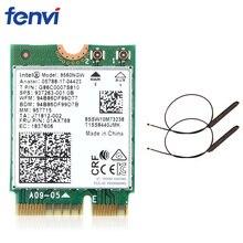 Двухдиапазонный беспроводной для Intel 9560 AC 9560NGW 1,73 Гбит/с Wifi 802.11ac Bluetooth 5,0 Wlan карта с MHF4 UF. L антеннами Windows 10