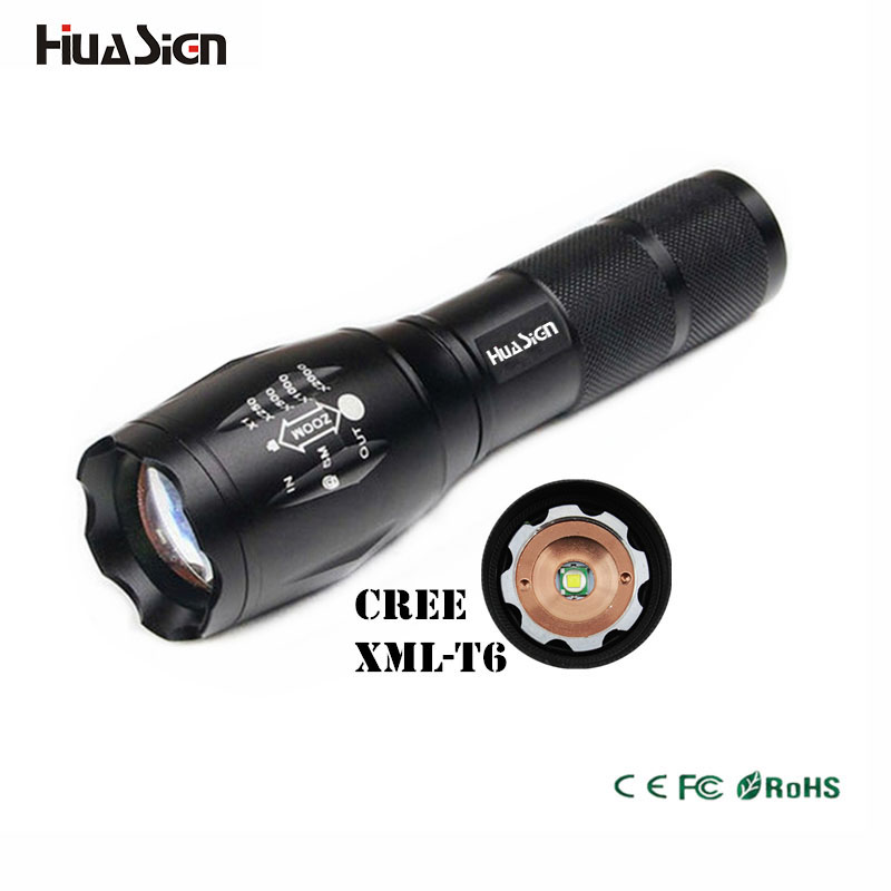 High Power CREE XML-T6 5 Modes 3800 Lumens 18650 battery LED Flashlight Waterproof Zoomable Torch lights crazyfire high power 1000lm led cree xml t6 lanterna torch mini flashlight 5 modes waterproof zoomable penlight by 18650 battery